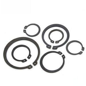 Image 1 - GB894 Circlips For Shaft 65 Manganese Steel Shaft Retaining Ring Bearing Retainer Circlip M8 M9 M10 M11 M12 M13 M75