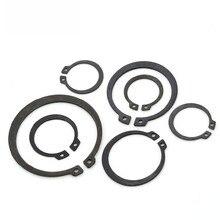 Gb894 circlips para eixo de aço 65 manganês anel retenção rolamento retentor circlip m8 m9 m10 m11 m12 M13 M75
