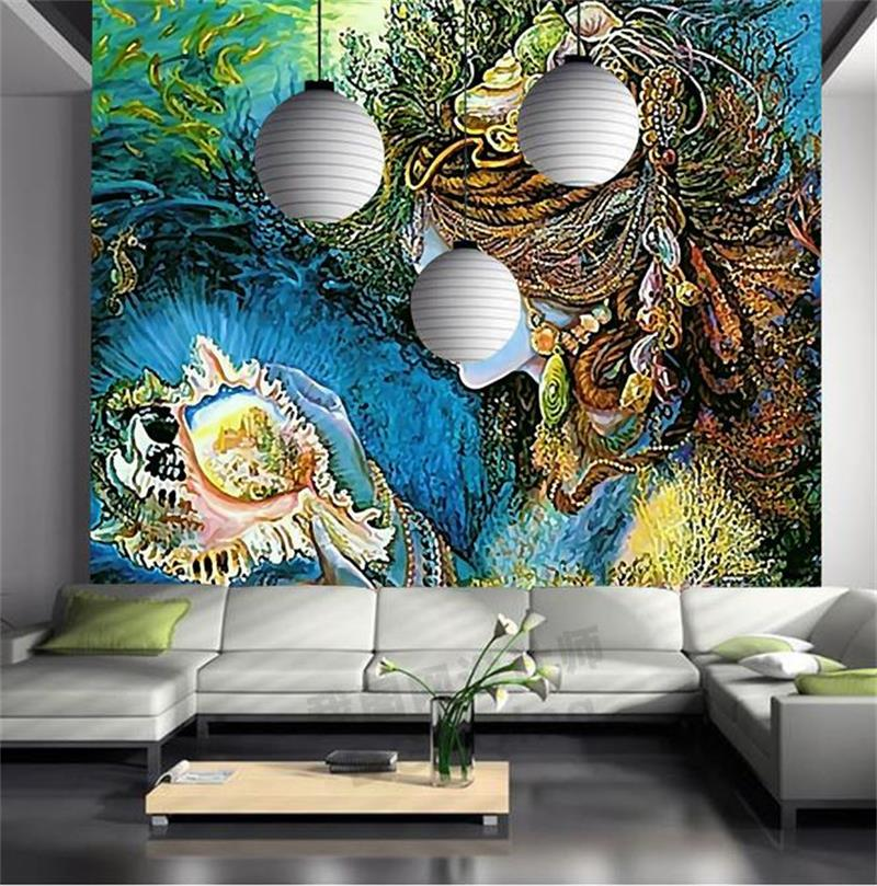 3D Wallpaper Custom Photo HD Mural Fairy Tale Modern Aesthetic Kids Room Background TV Sofa Bedding Hotel Living In Wallpapers From Home