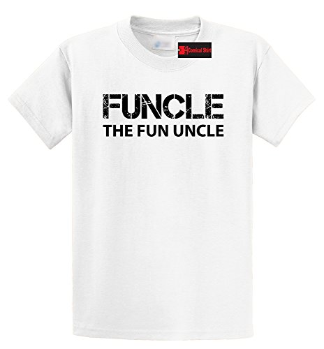 2017 Summer New Fashion  Comical Shirt Men's Funcle Fun Uncle Funny Tee Uncle Brother Gift Tee T-Shirt O-Neck Style Hip-Hop Tops