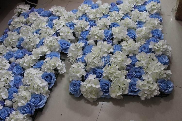 SPR Doprava zdarma 10ks / lot Umělé hedvábí růže květ zeď svatební pozadí uspořádání dekorace květina