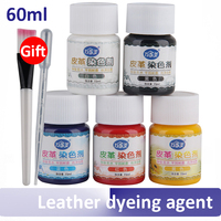 Leather Dyeing Agent For Repairing Leather Clothes Goods Coloring Change Color Sofa Refurbishment Package Makeup Paste