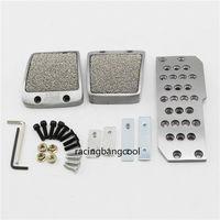 4pcs/set car Foot Rest Accelerator Brake Pedal Clutch Pedals for Honda JDM Mugen Manual Gear high quality Pedal cover accessory