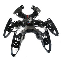 Assembled Robo Soul CR 6 Hexapod Robtics Six legged Spider Robot with 20CH Controller & Digital Servo