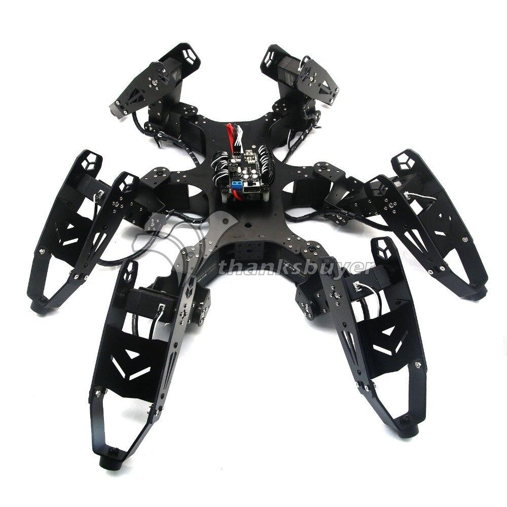 Robot araignée à Six pattes à CR-6 hexapode robo-soul assemblé avec contrôleur 20CH et Servo numérique