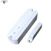 433.92 Mhz Kablosuz kapı kontak sensörü Kapı Manyetik Kontak Izleme için Özel alarm paneli Kapı veya Pencere (DM-100C) 2 adet