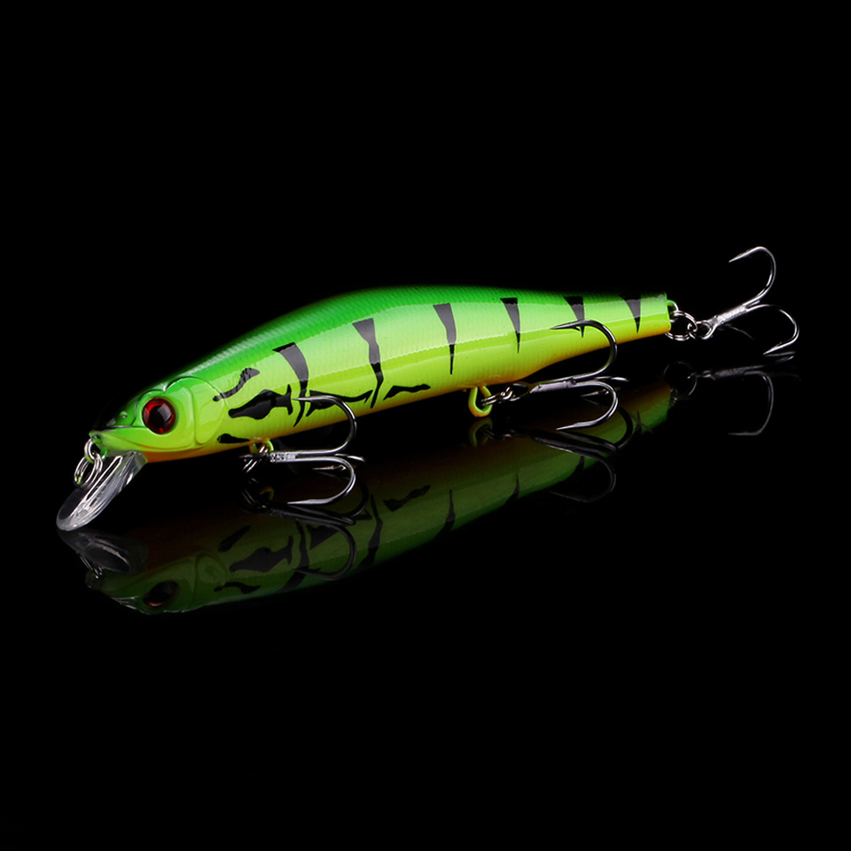 WALK FISH Best Quality Fishing Wobbler 17.4g/120mm Suspend Minnow Pike Bass Fishing Lures With 6# Hook peche isca artificial