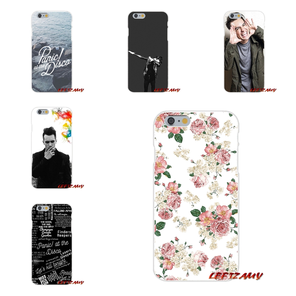 For iPhone X 4 4S 5 5S 5C SE 6 6S 7 8 Plus Accessories Phone Cases Covers Panic At The Disco cool man