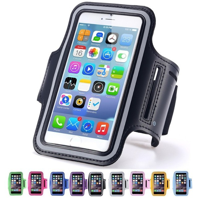 huge selection of db486 625d8 US $1.99 |Sports Arm Band Gym Running Cover Case For All 5.5
