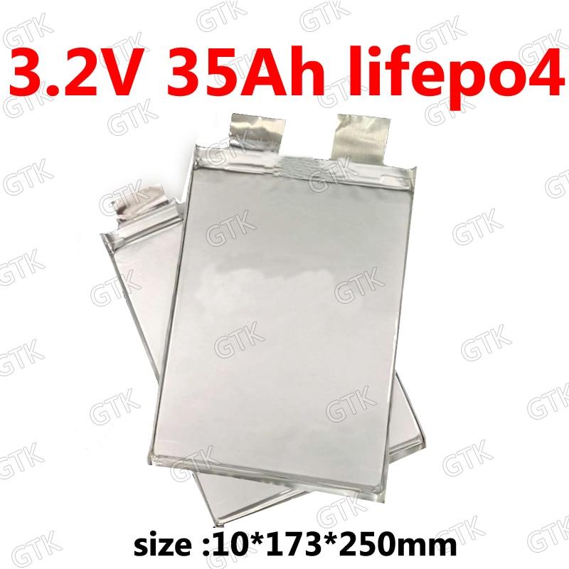 Lifepo4-Célula de 35ah DE ALTO drenaje para bicicleta eléctrica, batería solar de 12V, 24v, 35A, para bricolaje, 1 ud.