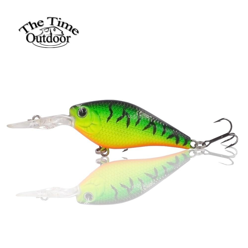 branded wobbler crankbaits hard artificial baits lure 55mm ...