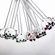 3 шт Осьминог креативные красочные стеклянные соломинки смузи многоразовые Свадебные День рождения питьевой бар соломы для напитков