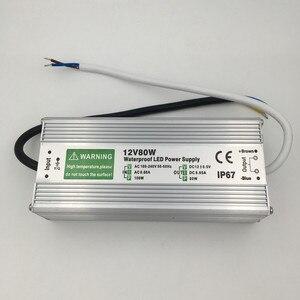 Image 4 - DC 12V LED אספקת חשמל 50W 60W 80W 100W 150W שנאי עמיד למים IP67 נהג עבור חיצוני גן נוף רצועת אור