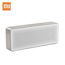 Original Xiaomi Mi Bluetooth Speaker Square Box 2 Stereo Portable 4.2 High Definition Sound Quality Play Music AUX
