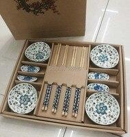 10 компл./лот посуда китайском стиле Палочки китайские блюд chopstick держатель посуда для свадьбы дверь возвращения подарок