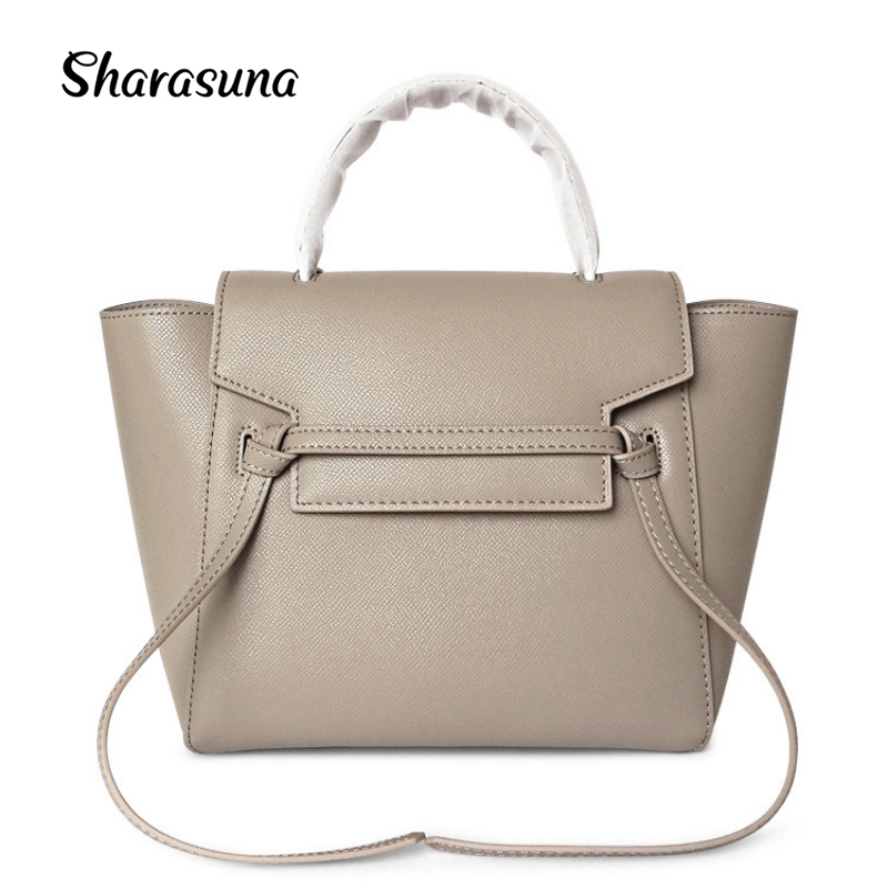 все цены на 2018 New European Style Luxury Bags Handbags Women Famous Brands Genuine Leather Shoulder Messenger Bags Designer Tote for Women онлайн
