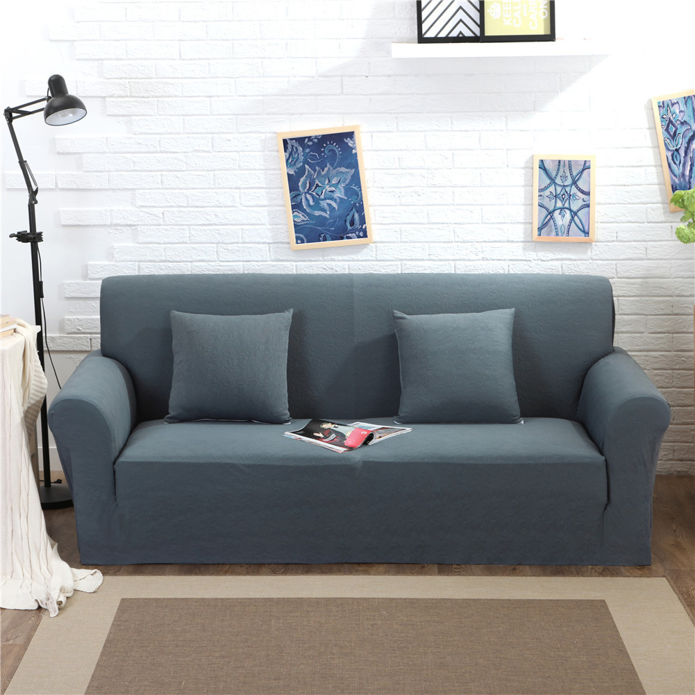 Thicken Knitted Stretch Fabric Slipcover For Chair