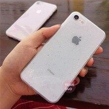 Glitter Stars Phone Case iPhone 6 6S 7 8 Plus X