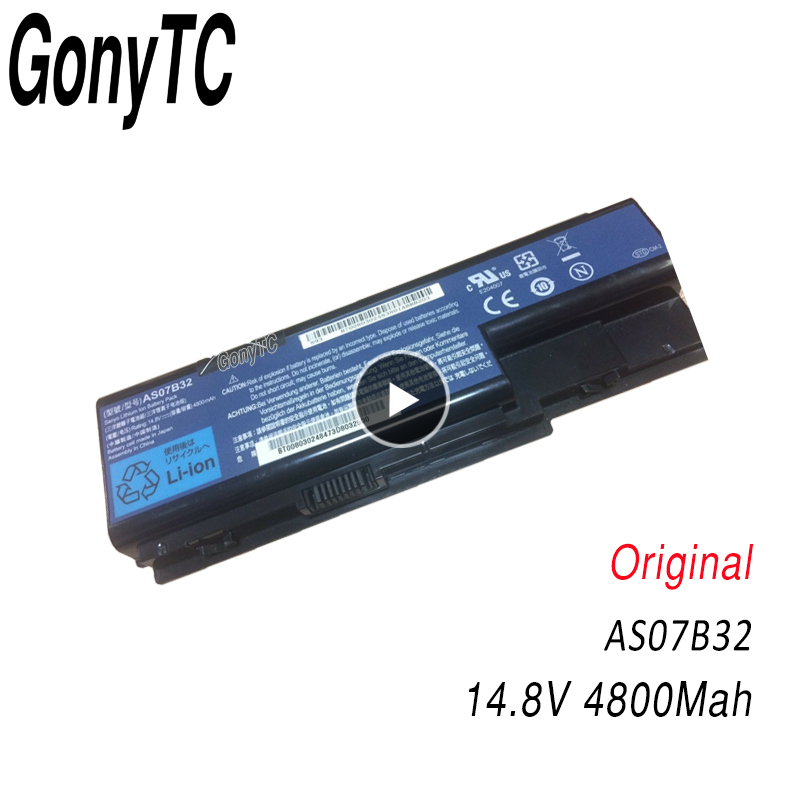 AS07B32 Original Laptop Battery for Acer for Aspire 5920 5920G 5930 5930G 5935 AS07B31 AS07B32 AS07B71 AS07B61 AS07B42 AS07B51-in Laptop Batteries from Computer & Office