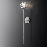 Loft Retro Pipe Iron Wall Sconce Led Wall Fixtures Walkway Light Italy Living Room Corridor Bedroom