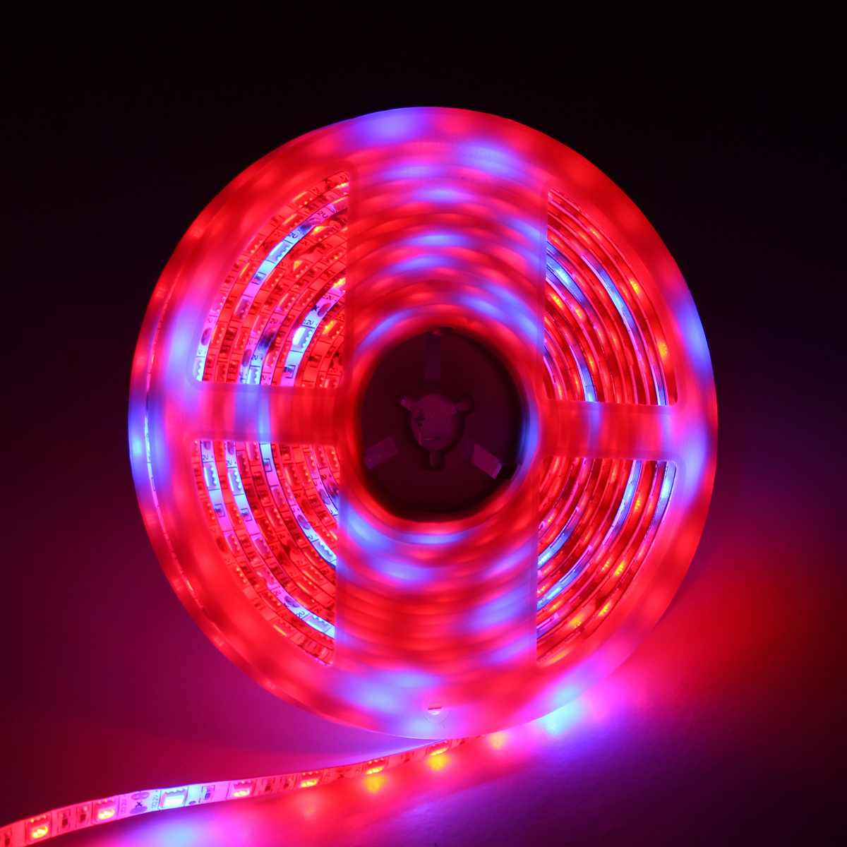 0.5M/1M/2M/3M/4M/5M SMD5050 Red:Blue 3:1 Full Spectrum LED Grow Strip Light Plant Lamp Not Waterproof