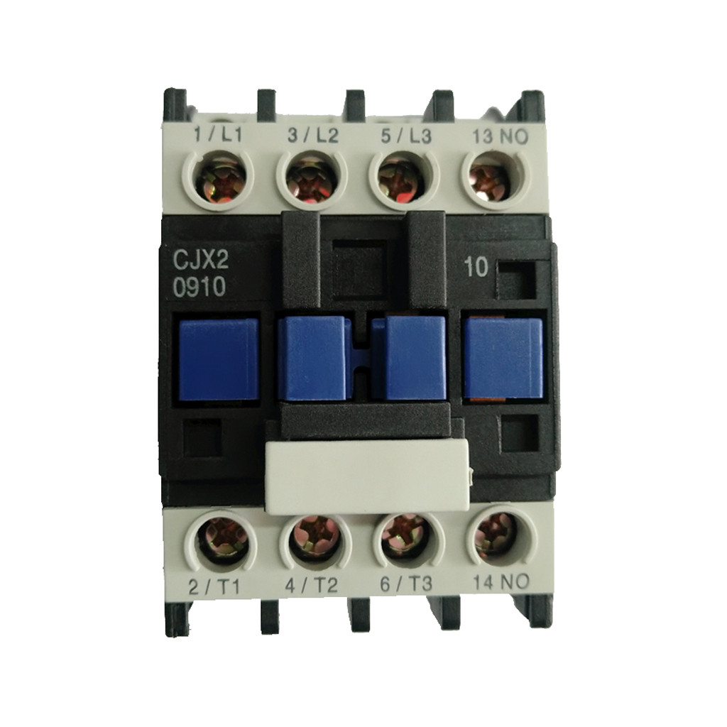CJX2-0910 AC 24V Coil 35mm DIN Rail Mounting Electric Power Contactor