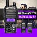 2 pçs/lote handheld walkie talkie baofeng uv-82 dual band rádio em dois sentidos bf cb rádio comunicador portátil presunto rádio transceptor