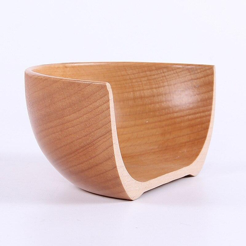 Купить с кэшбэком European / Chinese / Japanese wooden bowl home children adult baby bowl large bowl Steamed Rice wood tableware wholesale