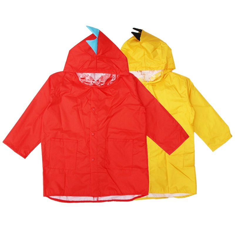 Cute Small Dinosaur Waterproof Rain Coat Boy Children Girls Kindergarten Windproof Poncho Student Baby Raincoat