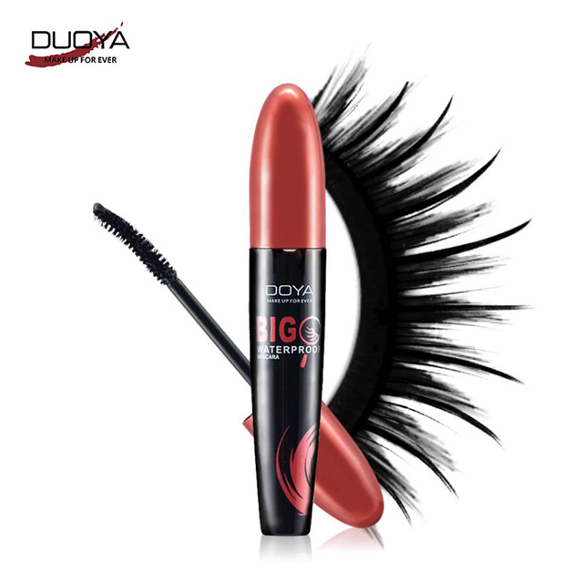 DUOYA Natural Brush Lengthening The Big Eyes Mascara