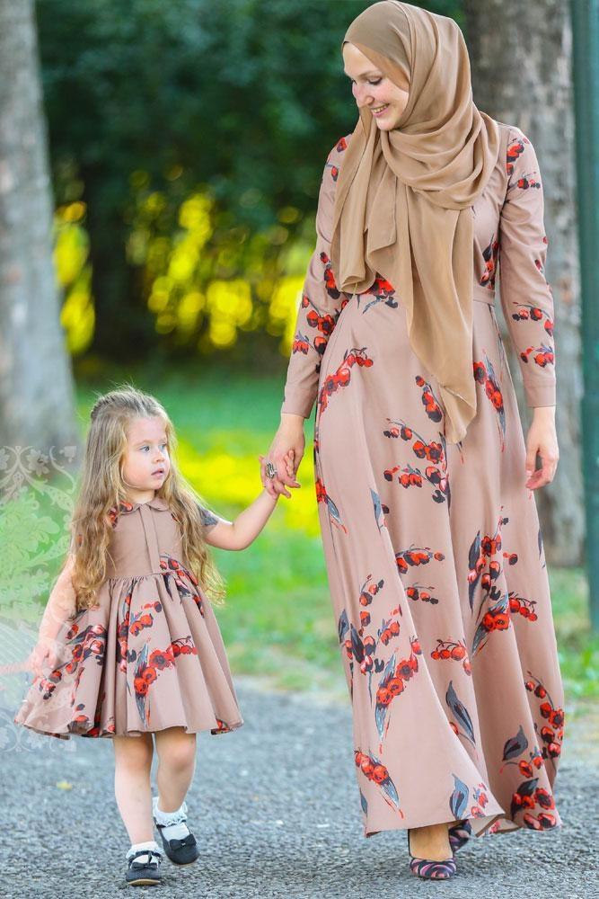 7XL plus size Muslim printed Flowers Full Abaya Kimono Robe Gowns Tunic Jubah Middle East Ramadan Islamic Prayer Clothing wq1960
