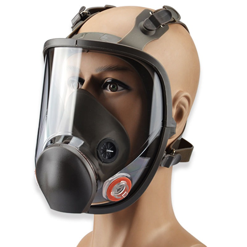 Back To Search Resultshome & Garden Sjl Full Face 6800 7 Piece Gas Mask Pesticides Facepiece Respirator Painting Spraying 6001 Filter Cartridge Chemical Medicine Factories And Mines Event & Party