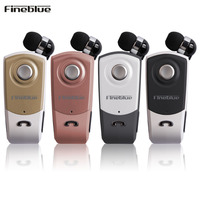 Fineblue F960 Bluetooth Earphone Wireless Handsfree Earbuds Business Headset With Mic Calls Remind Vibration Wear Clip
