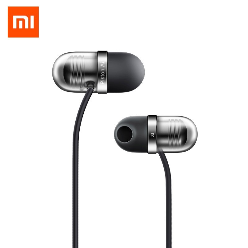 Xiaomi Mi Piston Air Earphone with Mic Piston Capsule Earphones Remote Silicon Earpiece In-Ear New Original For Mobile Phones