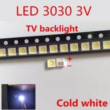 EVERLIGHT Retroilluminazione LED 1 w 3030 3 v bianco Freddo 80-100LM TV Applicazione 62-113TUN2C/S5000-00F/TR8-T 4000 szt