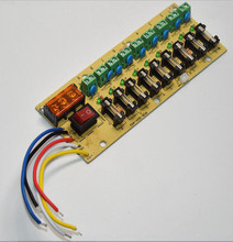 9 Way Output Switching Power Supply Wiring Board 9CH PCB Board with Fuse 10PCS_220x220 wiring fused switch reviews online shopping wiring fused switch  at gsmx.co