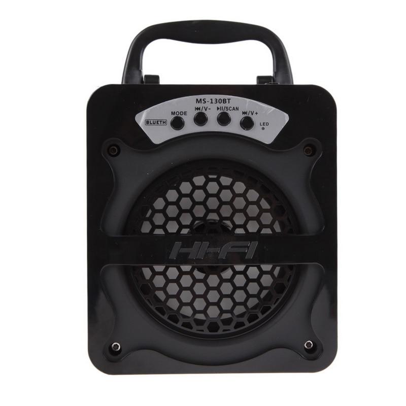 Outdoor HiFi Bluetooth Wireless Speaker Portable Super Bass Wireless Soundbox Speaker Subwoofer Loudspeaker USB TF AUX