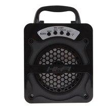 Открытый Hi-Fi Bluetooth Беспроводной Динамик Портативный Super Bass Беспроводной Soundbox Динамик динамик сабвуфера USB/TF/AUX/fm Радио