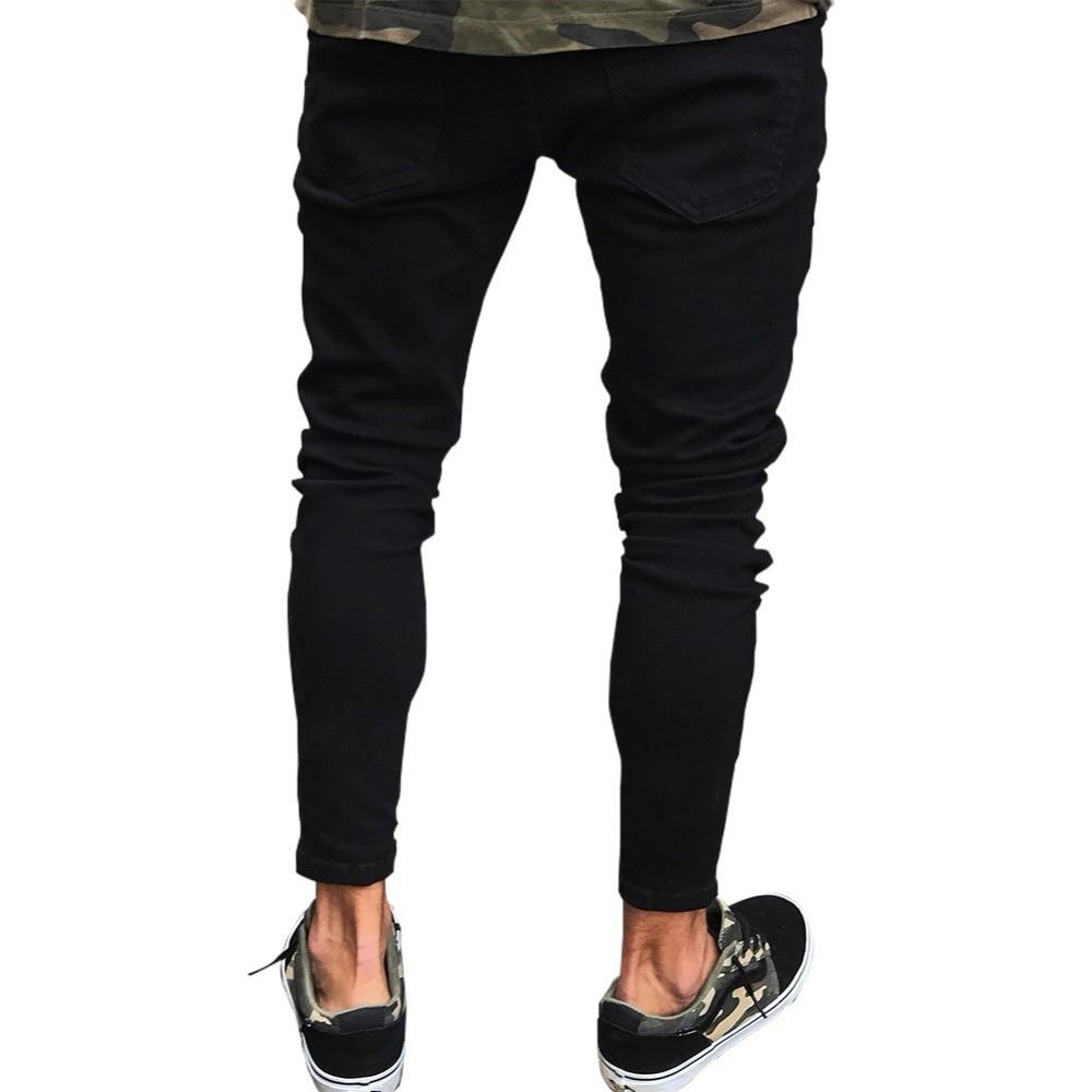 Jeans Fit Biker Pants 8