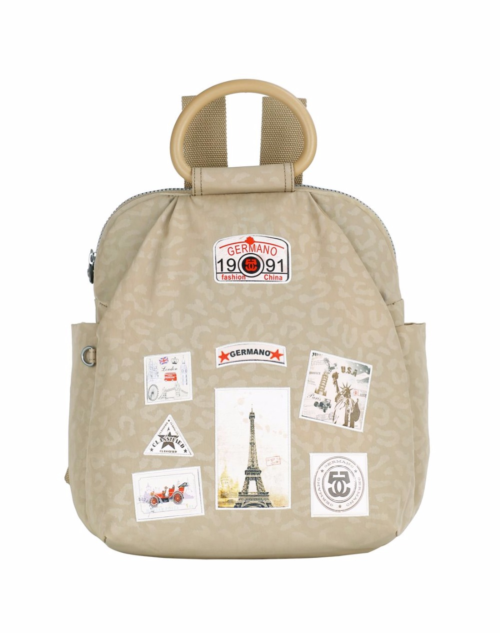 ФОТО Germano Kip Backpack Mochila Escolar Shoulder SchoolBag Waterproof Nylon Women Backpack Fashion ladd Backpack Casual Knapsack