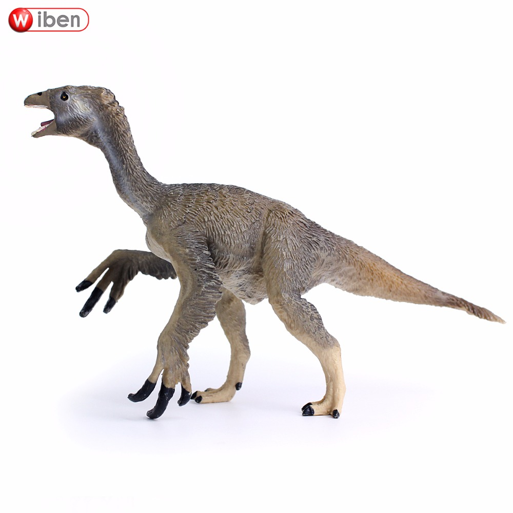 Wiben Jurassic Deinocheirus Dinosaur Action & Toy Figures Animal Model Collection Classic Toys Educational Kids Christmas Gift wiben jurassic acrocanthosaurus plastic toy dinosaur action