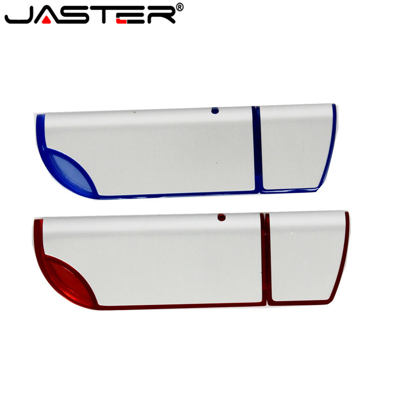 JASTER Curve USB 2.0 4GB To 64GB Flash Drive/Pen Drive With Customized Logo Printing For Promotional As Gifts Free Shipping