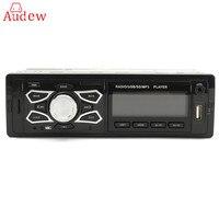 Car Radio 12V Bluetooth Car Audio Stereo In Dash 1 Din FM Aux Input Receiver SD