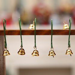 20Pcs Christmas Mini Bells Christmas Decorations for Home Decoracion Navidad Christmas Tree Decorations Christmas Ornament. Q 4