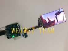 5.5 inch 1440P lcd panel 2560×1440 lcd mipi/ 2K LCD with HDMi board for Virtual Reality Hmd