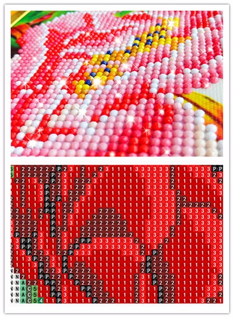 3D Diamond Painting Cross Stitch Pattern 5D Diamond Embroidery Red Dragon diamond Mosaic Resin Home Decor DIY diamond art