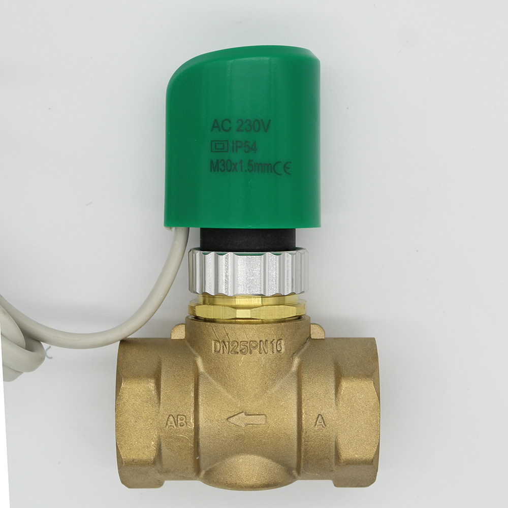 230V Normally Open Normally close Electric Thermal Actuator for flooring Heating radiator thermostatic brass valve DN20-DN25