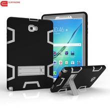 Armor Cover for Samsung Galaxy Tab A 10.1 P580 P585 Case 3 in 1 Shockproof Plastic Kickstand Case For Samsung P580 P585 Cover
