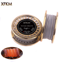 10/15feet XFKM Alien V2 Coil Wire A1 NI80 SS316 Heating Wire High Density RDA RBA RDTA Rebuildable Atomizer Heating DIY Coil [category]