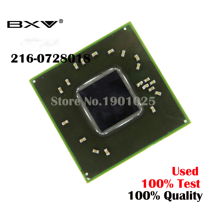 DC: 100% teste de produto muito bom 216-0728018 216 0728018 bga reball chip com bolas de chips IC